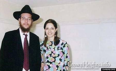 Rav Gavriel Noach e Rivka Holtzberg